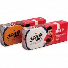 Мячи для настольного тенниса DHS CELL-FREE 40+ мм 1*