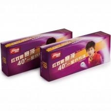 Мячи для настольного тенниса DHS CELL-FREE DUAL 40+ мм 1*