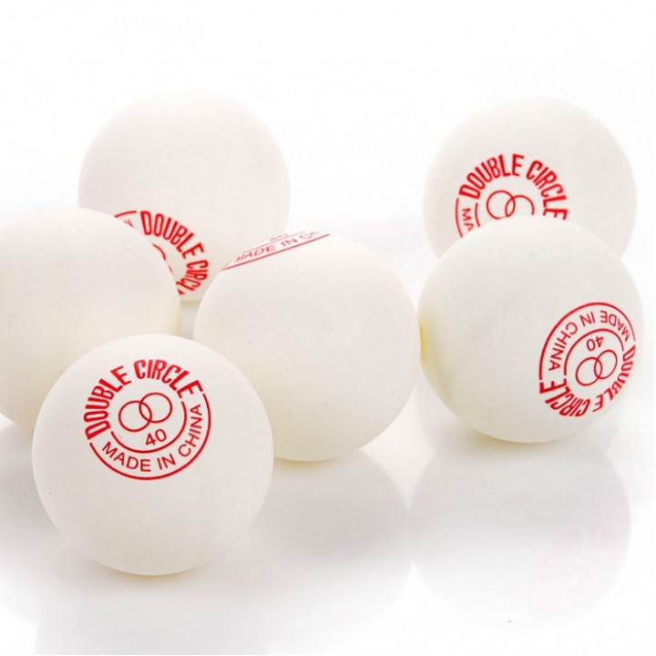 Мячи для настольного тенниса Double circle dual 40+