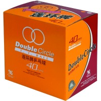 Мячи для настольного тенниса DHS DOUBLE CIRCLE 40 мм 144шт