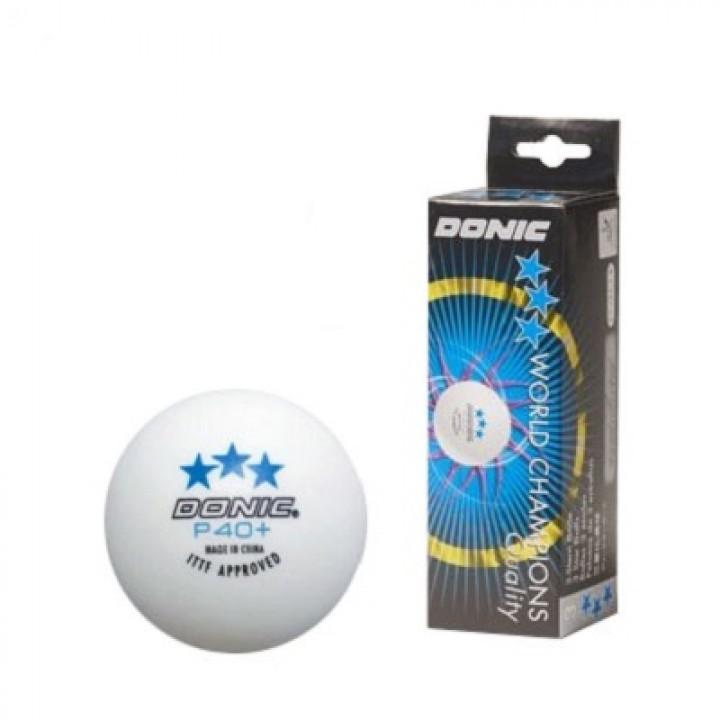 Мячи для настольного тенниса Donic P40+ 3*