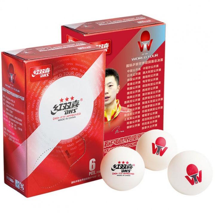 Мячи для настольного тенниса DHS ITTF World Tournament Ball